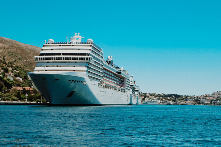 Cruise ships in Dubrovnik