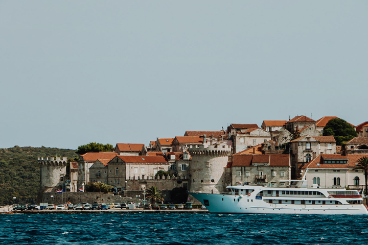 West side of Korcula town