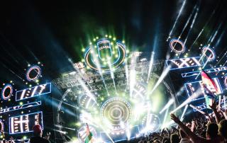 Ultra Europe 2020 music festival in Croatia