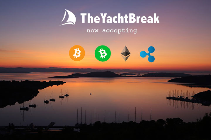 The Yacht Break is now accepting crypto payments