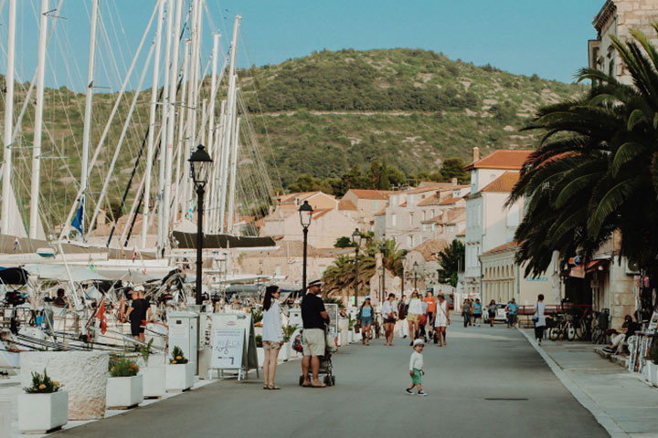Appreciate the pace of island life during your holiday to Croatia